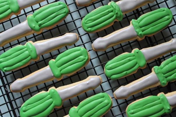 Screwdriver Cookies