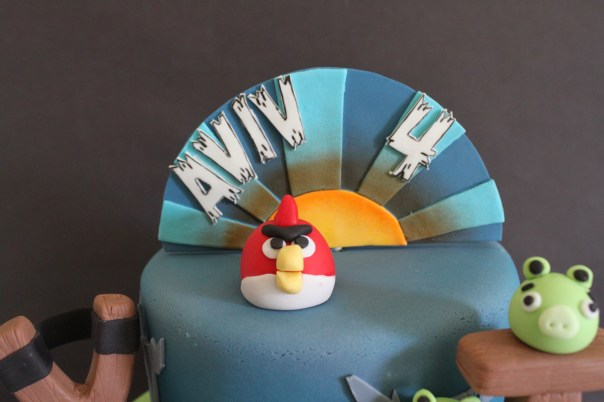 Angry Birds Cake Topper