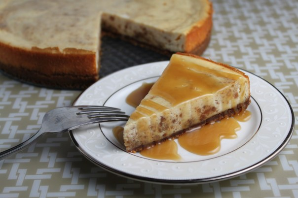 Speculoos Cookie Cheesecake