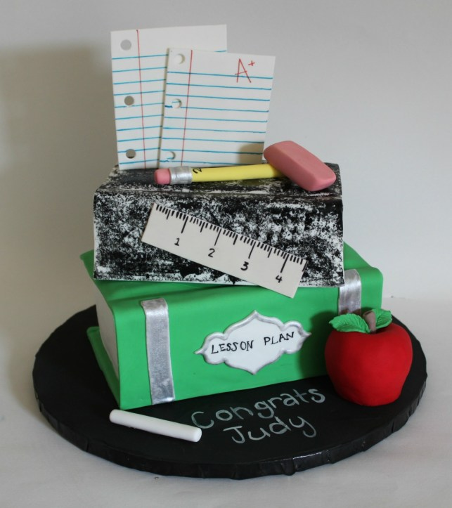 Teacher Retirement Cake