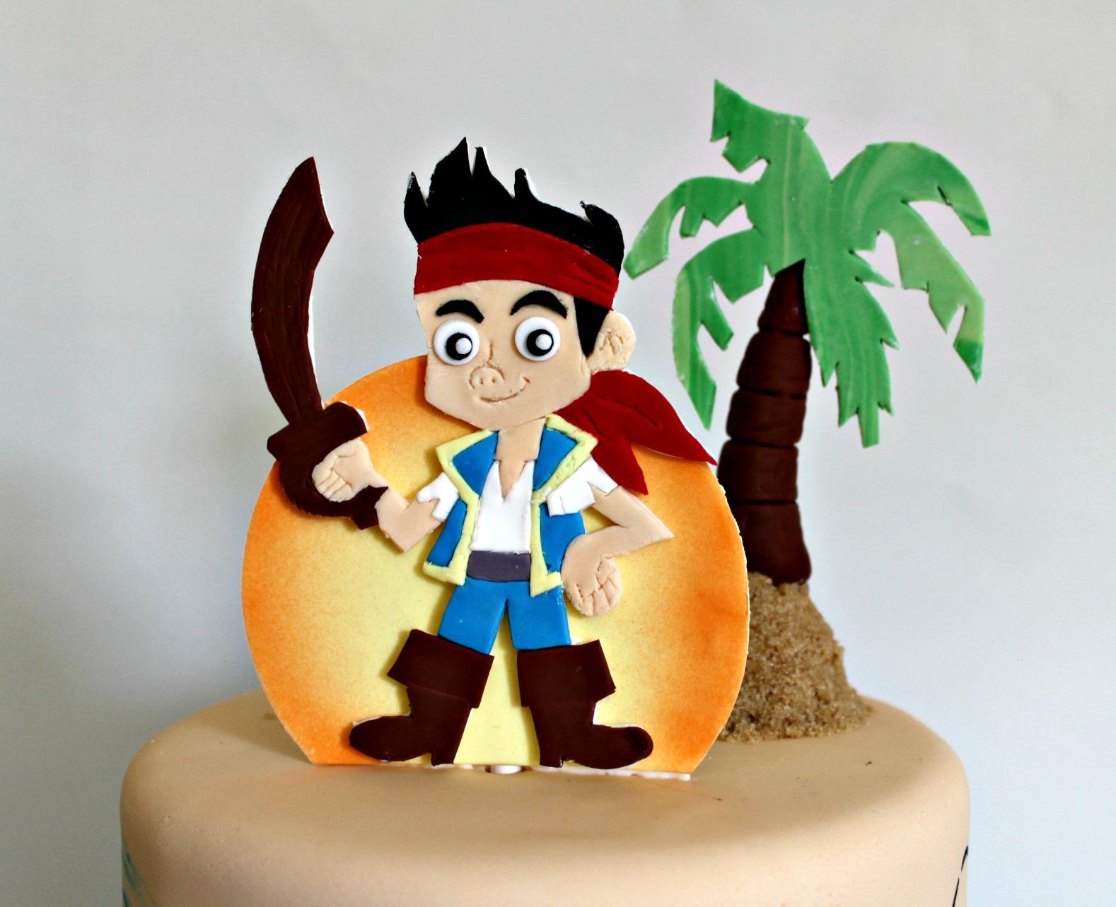 Miraculous Pirate Birthday Cake Lil Miss Cakes Birthday Cards Printable Trancafe Filternl