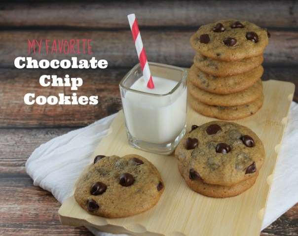 My favorite chocolate chip cookie recipe
