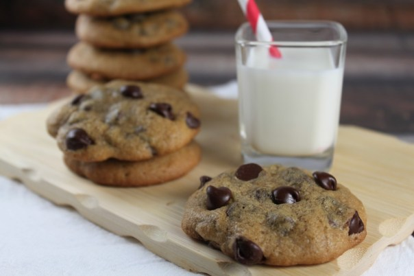 Non-Dairy Chocolate Chip Cookies