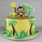 Monkey in the Jungle Cake