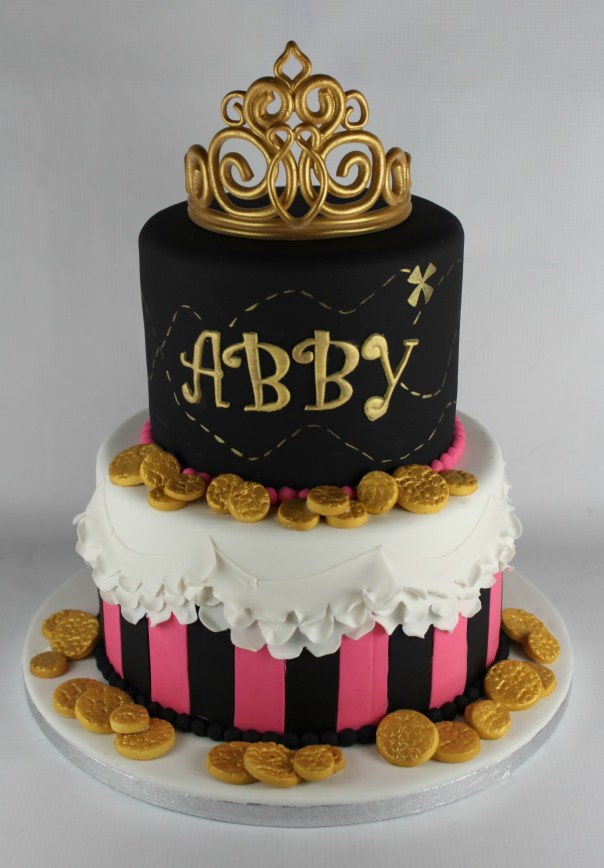 Princess Pirate Birthday Cake