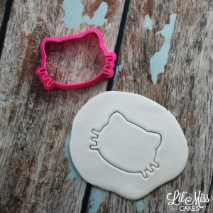 Cat With Whiskers Cutter | Lil Miss Cakes