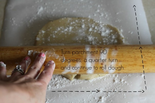 Tips for rolling out cookie dough