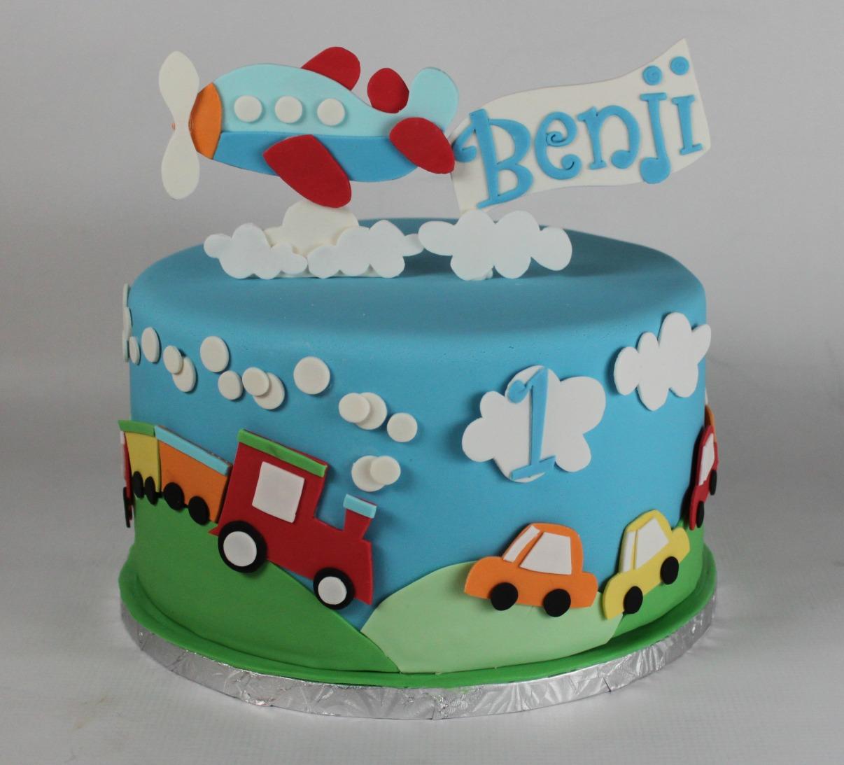 Cake Cart Menu