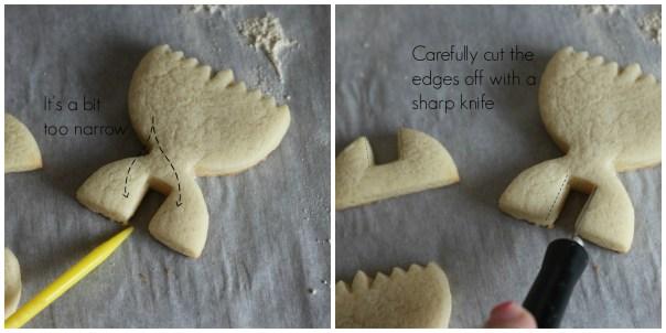 Trimming cookies
