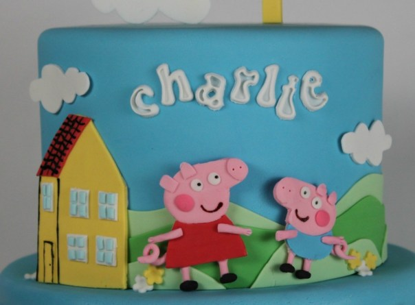 Peppa Pig and George Pig