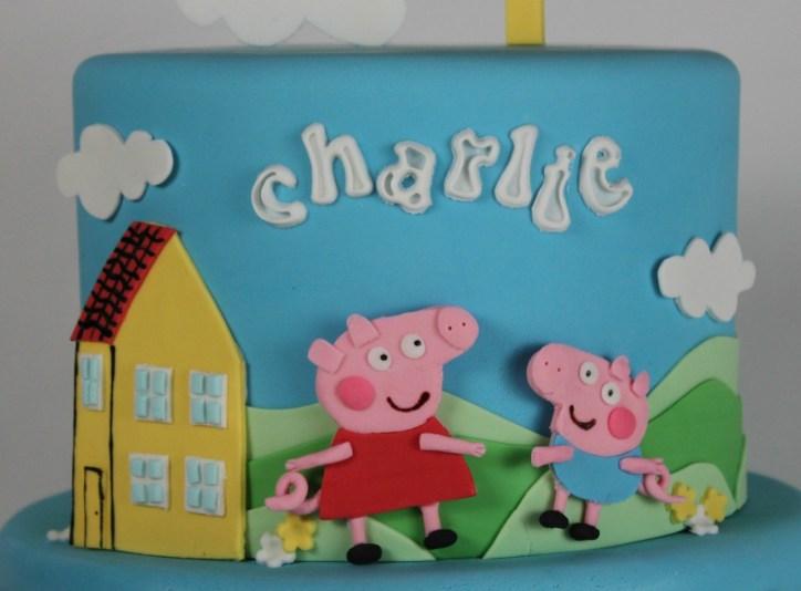 Peppa Pig and George Pig