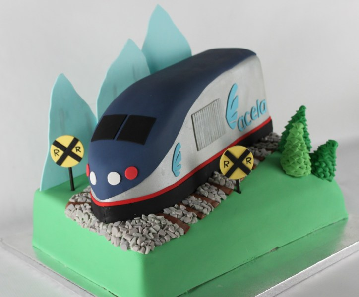 Express Train Cake | Lil Miss Cakes