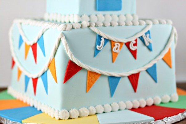 Fondant Cake Bunting | Lil Miss Cakes