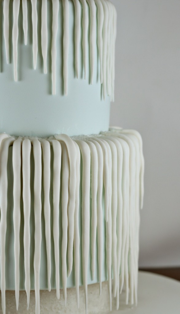 Fondant Icicles | Lil Miss Cakes