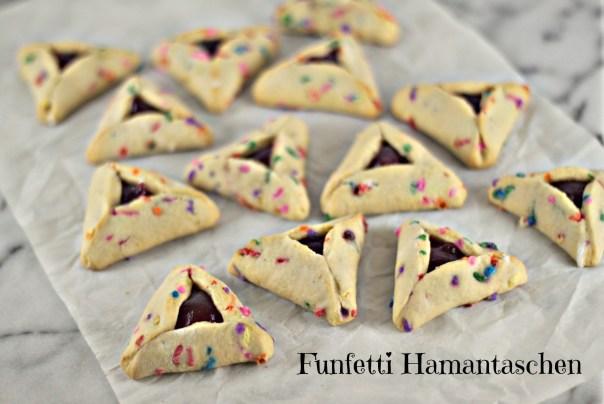 Funfetti Hamanstaschen | Lil Miss Cakes