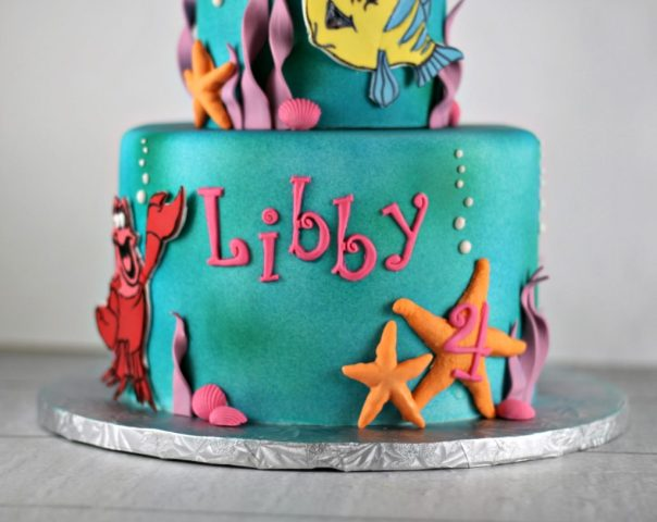 Under the Sea Cake | Lil Miss Cakes