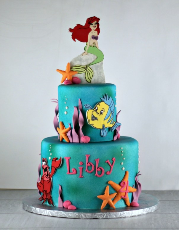 Mermaid Birthday Cake | Lil Miss Cakes