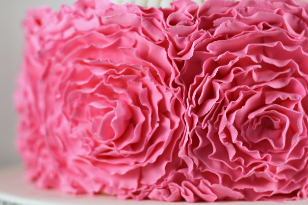 Ruffle Roses   Lil Miss Cakes