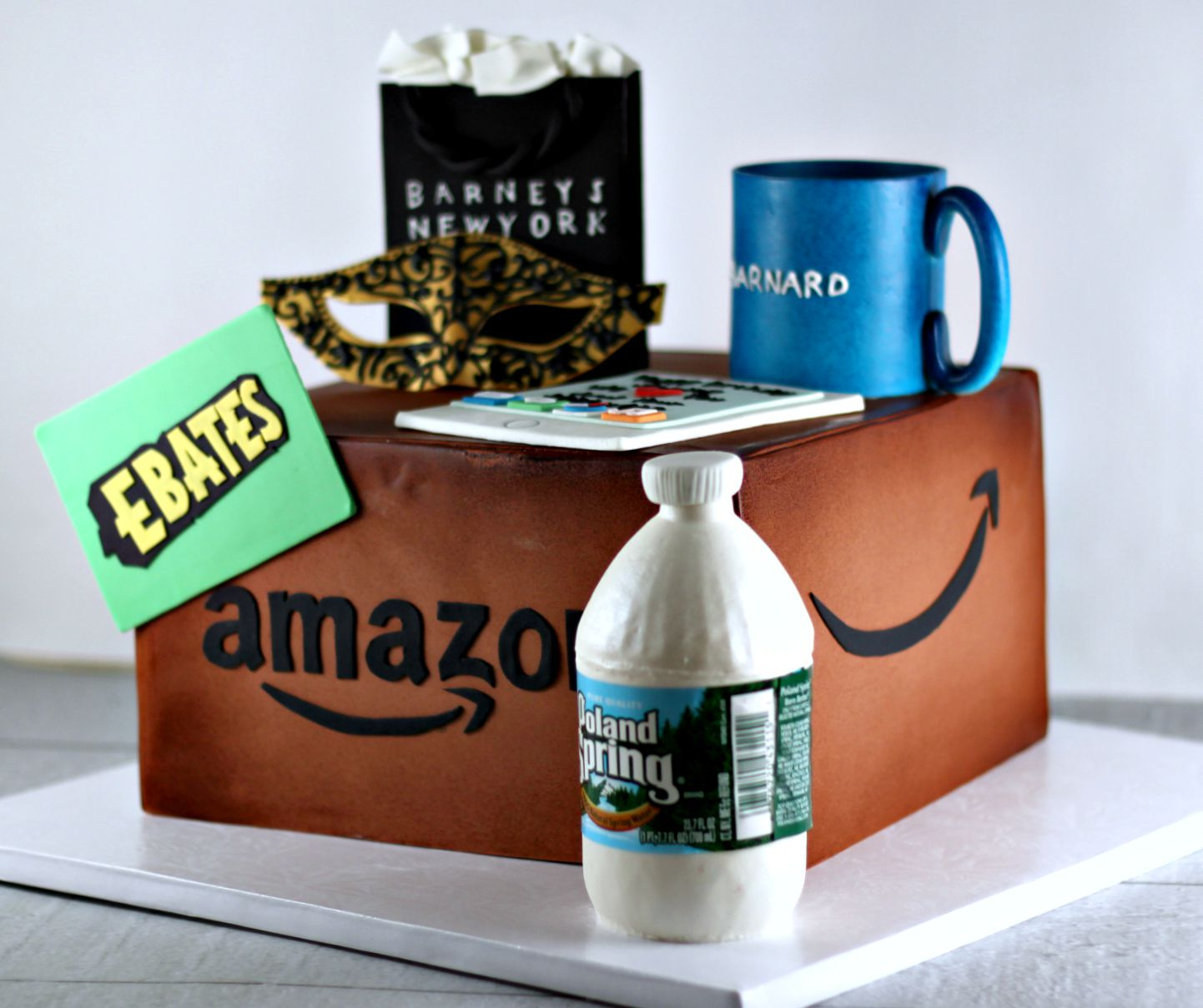 Amazon Box Birthday Cake
