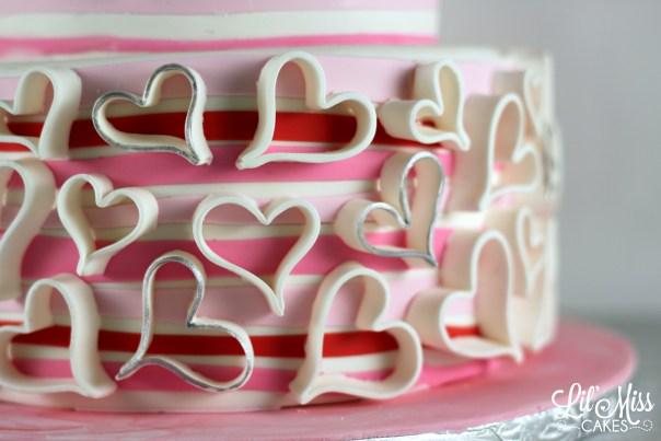 Fondant Hearts | Lil Miss Cakes
