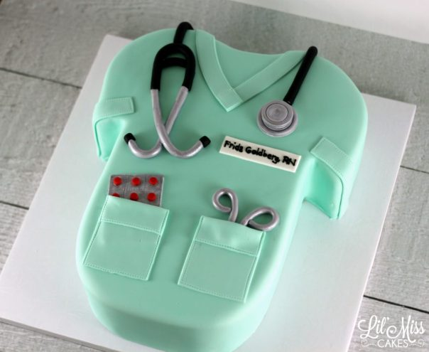 Nurse Cake   Lil Miss Cakes