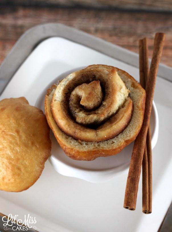 Cinnamon Bun Donut   Lil Miss Cakes