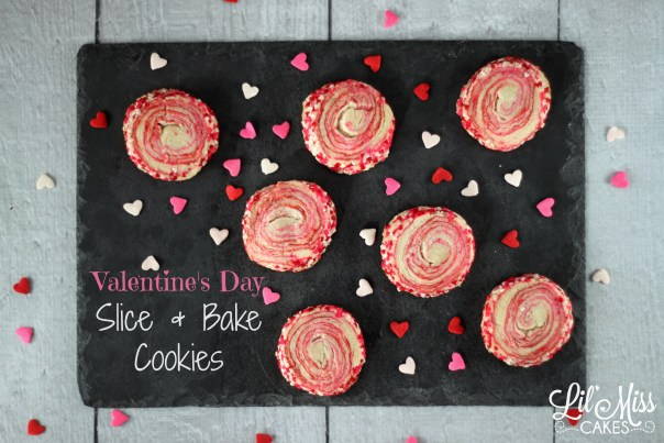 Valentines Day Cookies | Lil Miss Cakes