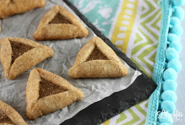 Snickerdoodle Hamantaschen | Lil Miss Cakes