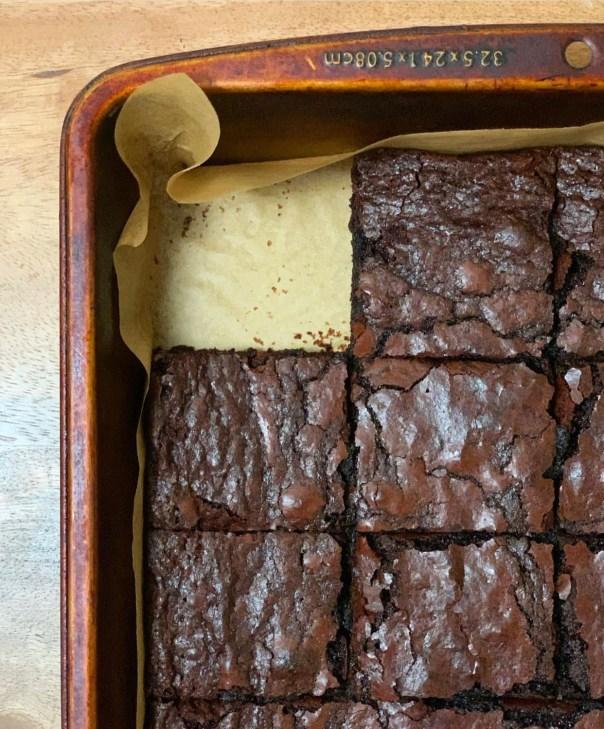 Fudgy Brownies - Lil Miss Cakes