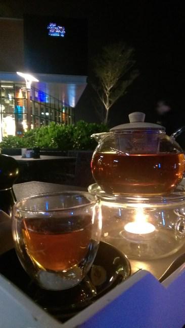 Elderflower tea