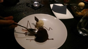 Chocolate fondant, to die for