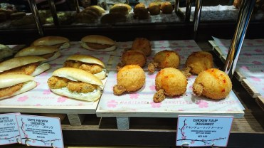We tried the chicken tulip doughnut and personally didn't like it all that much. Much prefer the sweets !