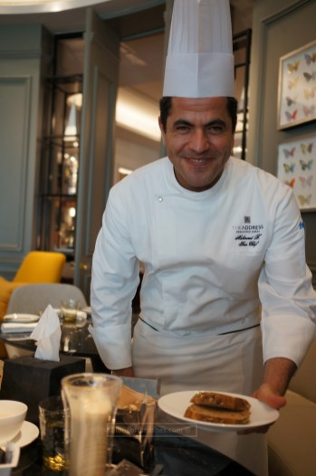 The star of our Saturday morning - Chef Mahmoud