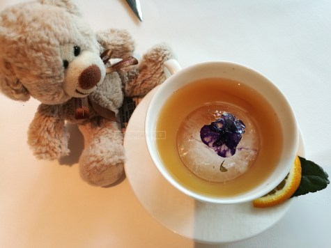 Welcome Drink. Bear not included.