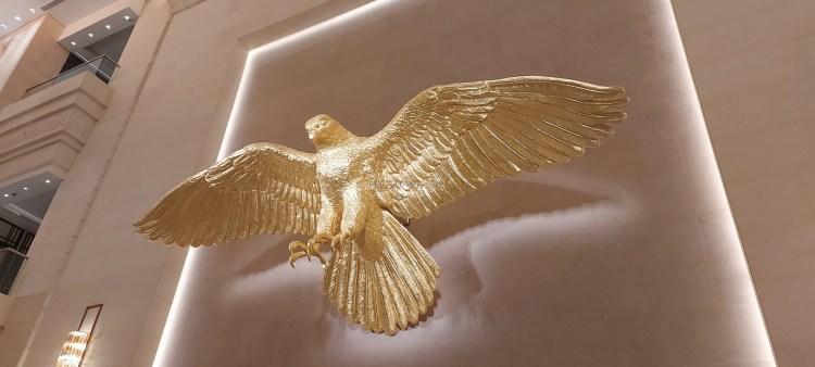 Hello there, gold eagle