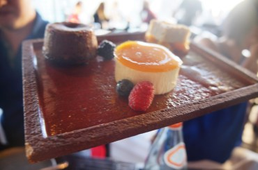 Dessert Platter - The chocolate fondant was to-die-for
