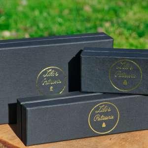 Macaron Geschenkboxen (Leer)
