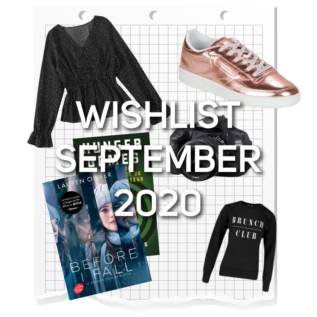 Wishlist September 2020