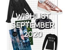 Wishlist September 2020