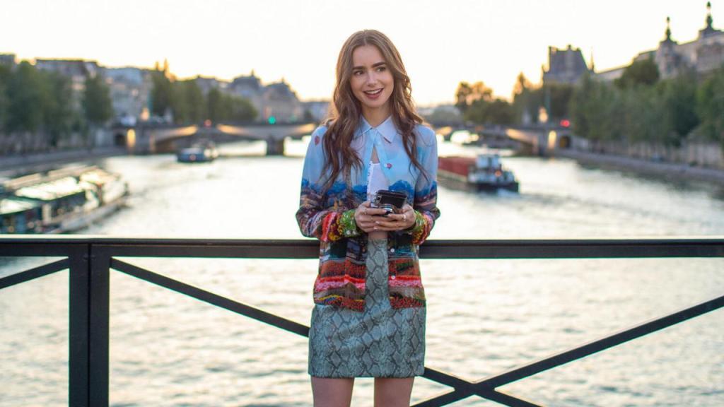 Emily in Paris dans la capitale sur Netflix
