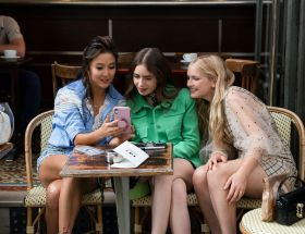 Emily in Paris sur Netflix