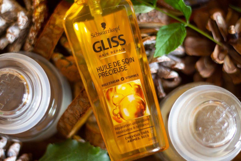 Gliss Hair Repair Huile de soin précieuse de chez Schwarzkopf à l'huile d'argan et à la vitamine E