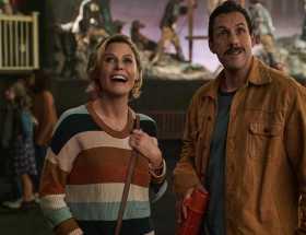 Hubie Halloween nouveau film sur Netflix avec Adam Sandler et Paris Berelc