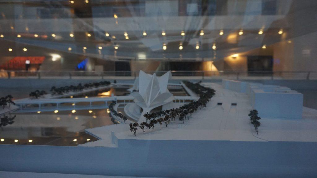 Visite du musée des sciences