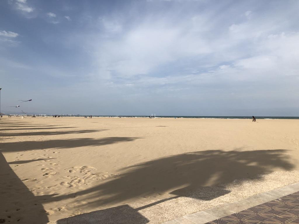 la plage Malva-Rosa à Valencia