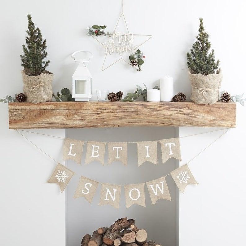 Décorations de Noël cheminée – ETSY