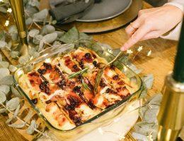 Des pâtes farcies pour votre repas du Nouvel An