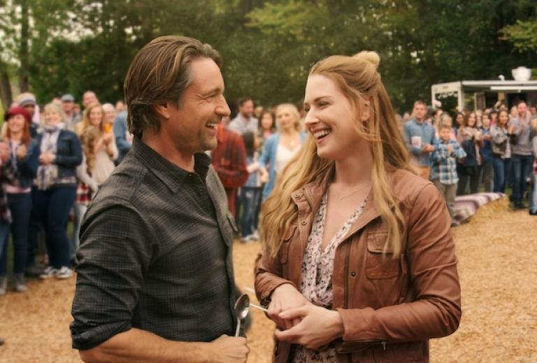 Mel et Jack dans la saison 2 de Virgin River