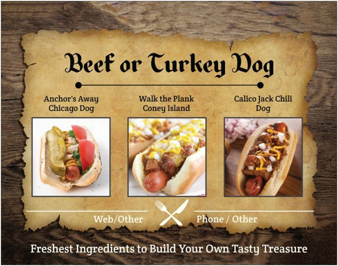 Beef or Turkey Dogs