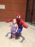 Spiderman, Spiderman, Does whatever a spider can. Spins a web, any size...